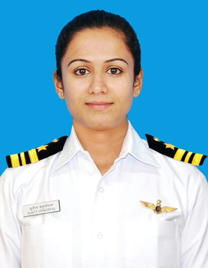 Deputy Commandant Priyanka Tyagi