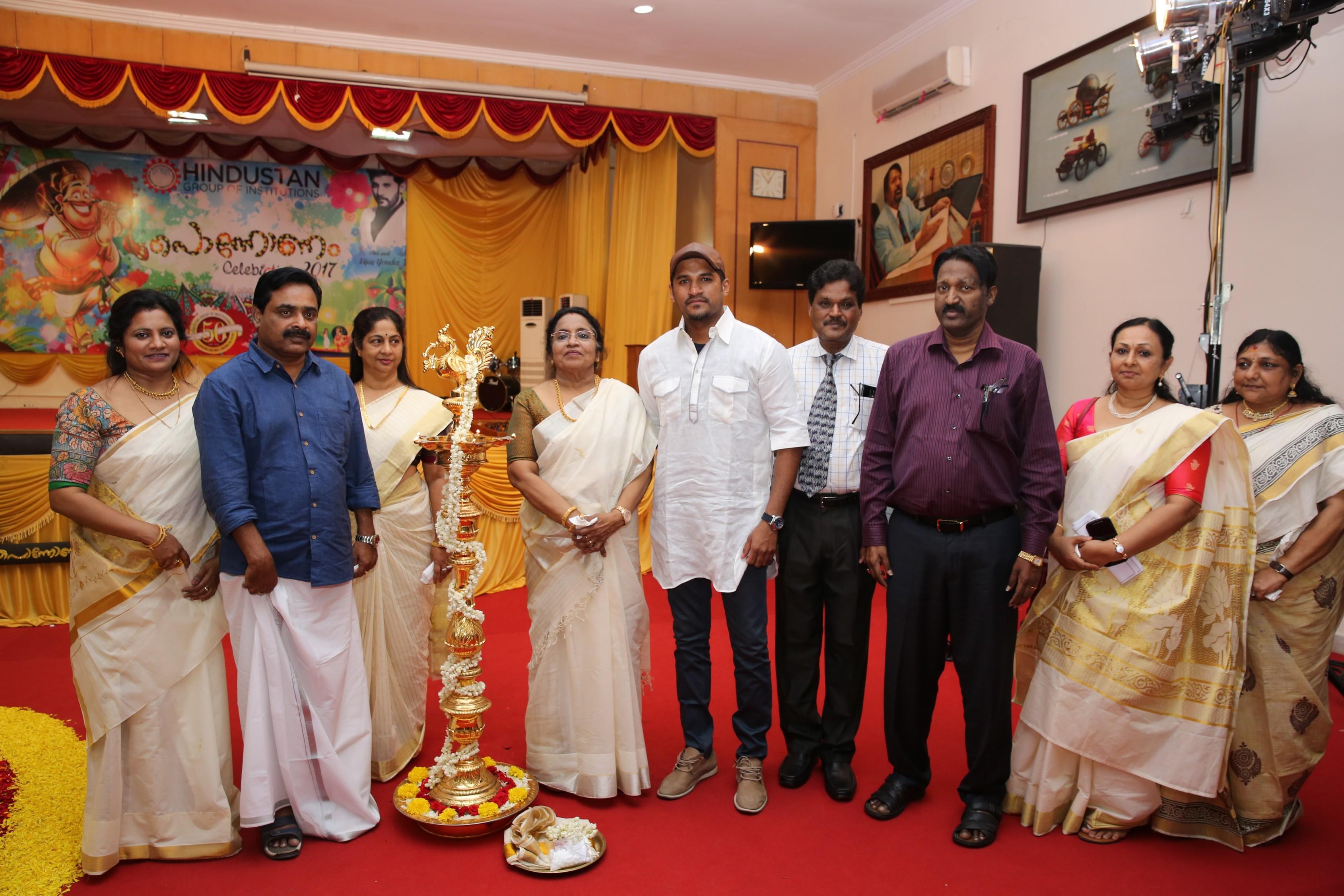 Onam at Hindustan University, Chennai.