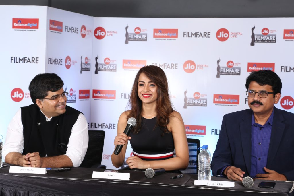 The iconic 65th Jio Filmfare Awards South 2018 is back - INFODEA