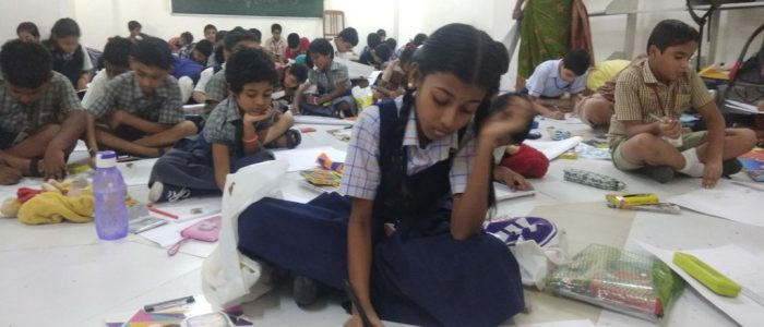 PHOTO 2 – DRAWING COMPETITIONS ORGANISED TODAY WORLD VEG COUNCIL ON THE OCCASSION OF WORLD VEGETARIAN DAY CELEBRATIONS