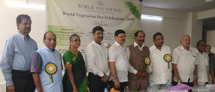 PHOTO 4 WORLD VEG COUNCIL ORGANISED WORLD VEGETARIAN DAY CELEBRATIONS TODAY