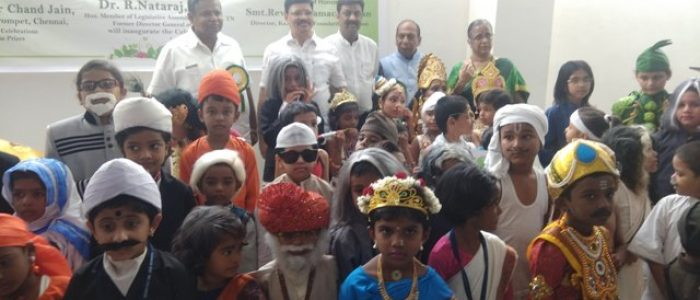 PHOTO 6 – FANCY DRESS COMPETITIONS ORGANISED TODAY WORLD VEG COUNCIL ON THE OCCASSION OF WORLD VEGETARIAN DAY CELEBRATIONS