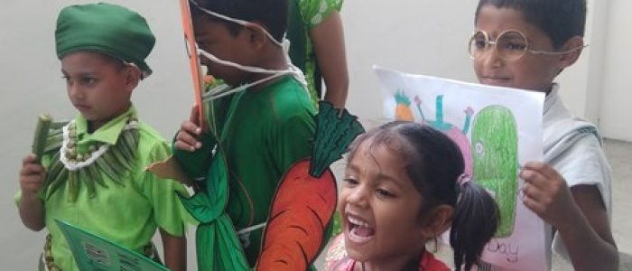PHOTO 7 – FANCY DRESS COMPETITIONS ORGANISED TODAY WORLD VEG COUNCIL ON THE OCCASSION OF WORLD VEGETARIAN DAY CELEBRATIONS
